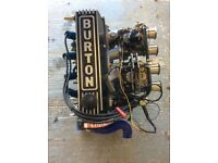 Ford Burton Pinto Engine with Webers 160BHP
