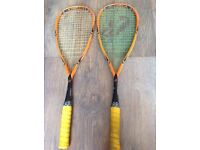 2 Climax X-Rated Squash Rackets