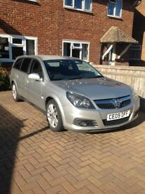2009 Vauxhall Vectra 1.8i VVT SRI Estate - low mileage.