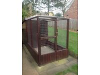 Integrated Dog Kennel & Run
