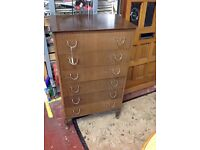 Retro Lebus chest of drawers