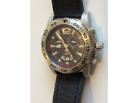 New TIMBERLAND 13319J multifunction black dial leather men's watch