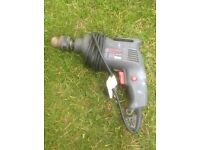 Hammer drill, good working condition, £7