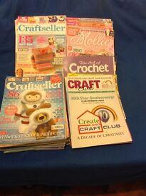 Craft magazines 40