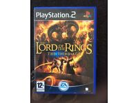 PS2 The Lord Of The Rings The Third Age