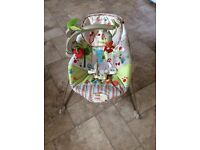Fisher price woodsey baby bouncer