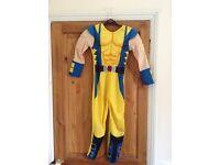 Wolverine fancy dress costume age 7-8 worn twice