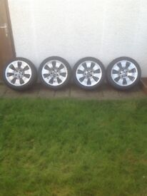 BMW 3 series E90 E91 winter wheels and tyres