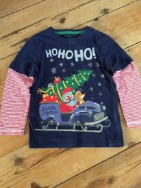 Boys Christmas Top age 4-5