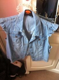 waistcoat size 18 new without tags