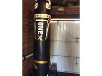 ONE X HEAVY FILLED 35 kg 5 FOOT MMA BOXING PUNCH BAG NEW IN BOX
