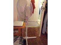 Pedestal fan in good conditions £8 ONO