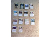 Pokemon cards- mix of stadiums,trainers and supporters