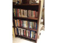 Chunky wood rustic bookcase