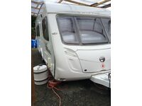 2008/9 Swift Challenger 560 with full size awning and 2 annexes.excellent condition