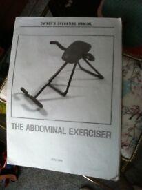 Abdominal Exerciser - unused