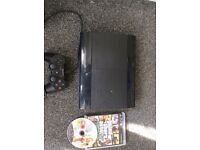 PlayStation 3 500g slim console with grand theft auto 5