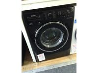 Blomberg 8kg 1400spin black washing machine RRP £369new/graded 12 month Gtee