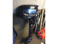 Boat . Outboard engine 6hp sail drive. 4 stroke