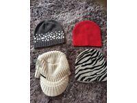 Women's bundle of hats lovely