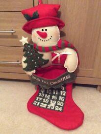 John Lewis Snowman Advent calendar