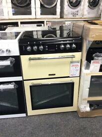 Leisure electric 60cm cooker double oven new graded 12 mths gtee
