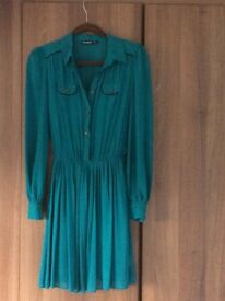 Teal green Atmosphere dress size 8