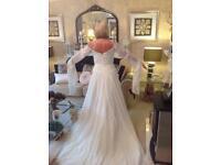 Vintage Roman goddess style wedding dress size 12