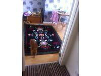 Bright coloured ikea carpet for sale