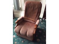 An electric chair, for Grandad/grandma or the whole family. It is strongly made. Cannot deliver.