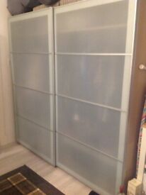 Brand new (boxed) IKEA PAX double wardrobe