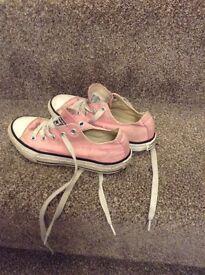 Converse pink pumps, good condition, 12.5 size