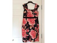 Pink & black dress from Coast