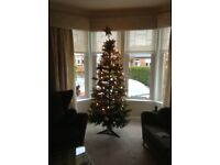Good quality Xmas Tree complete FREE