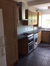 Kitchen units, Fridgefreezer, Washing machine dishwasher stove oven