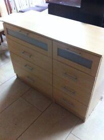 Lovely modern chest of drawers