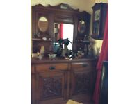 Antique dresser/sideboard 1890's