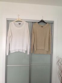 Ladies jumpers and cardgins