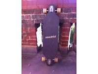 Technically a brand new Madrid longboard looking for a new home! Price can be talked about