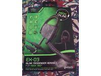 Xbox 360 Ex-03 inline messenger headset