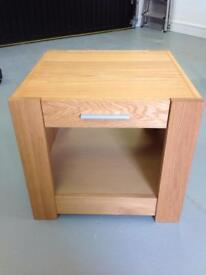 Solid Oak Cabinet / Tv Stand / Drawer Unit