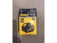 Brand New DEWALT DCB546 XR FLEXVOLT CONVERTIBLE 18V/54V LITHIUM-ION 6.0AH BATTERY