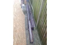 60m + Brown upvc Guttering, Downpipe and fittings