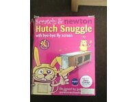Scratch and Newton hutch snuggle cover for rabbit guinea pig hutch -Blackpool area new in box