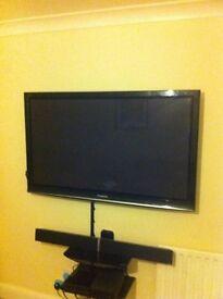 Panasonic 50 inch viera tv with stand