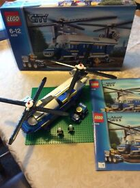 Lego City 4439 Police Helicopter