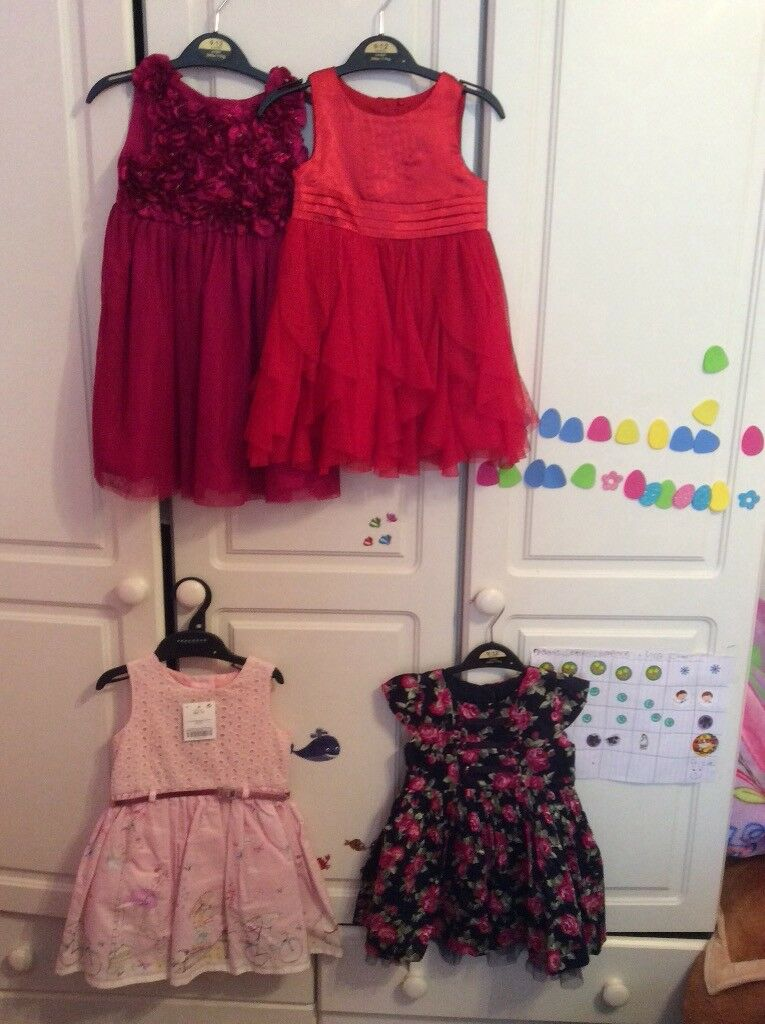 ea9ffc962 Baby girl beautiful dress bundle. 9-12 months. Some brand new others ...