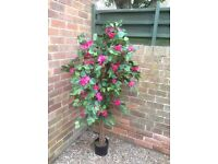 Artificial Trees with flower detail Wedding/decor/party X2