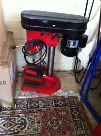 SEALEY Bench Top Pillar Drill plus 3 large drill bits