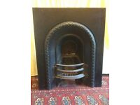 Original Victorian fireplace insert